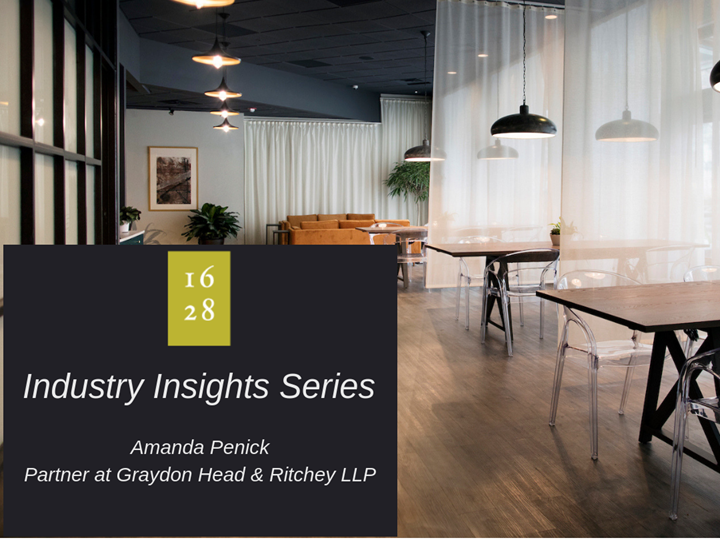 1628 Industry Insights Series - Amanda Penick, Graydon Head & Ritchey LLP