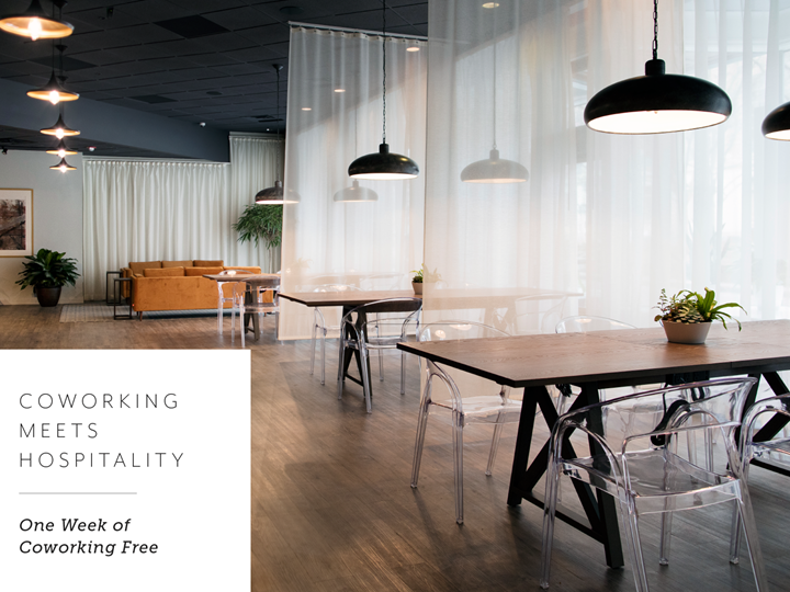Complimentary Week of Coworking at 1628 Ltd.